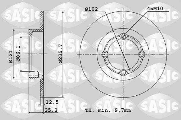 DISC FRANA SASIC 6106111