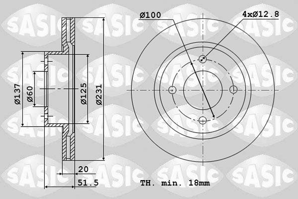DISC FRANA SASIC 6106318