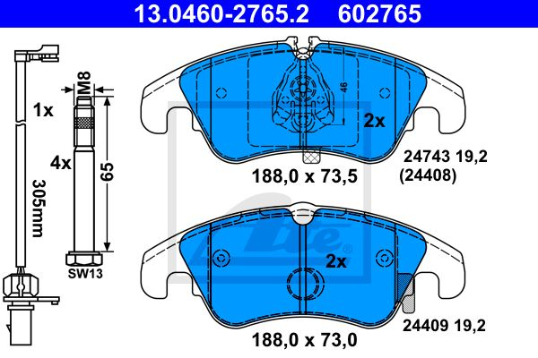 SET PLACUTE FRANA FRANA DISC ATE 13046027652