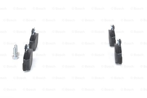 SET PLACUTE FRANA FRANA DISC BOSCH 0 986 460 993