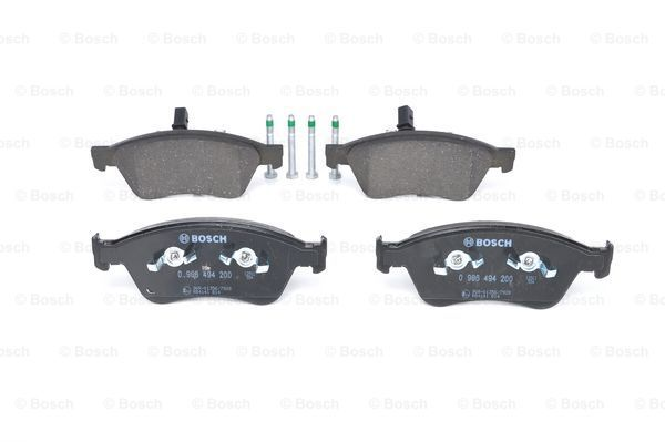 SET PLACUTE FRANA FRANA DISC BOSCH 0986494200