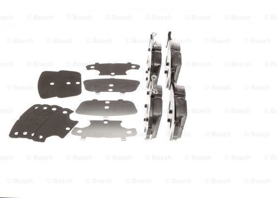 SET PLACUTE FRANA FRANA DISC BOSCH 0 986 494 839