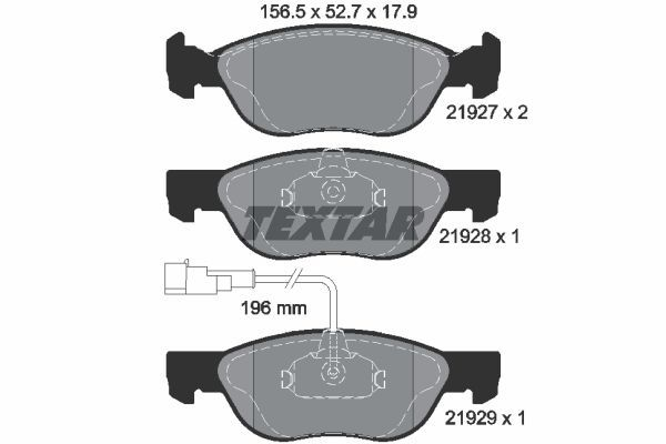 SET PLACUTE FRANA FRANA DISC TEXTAR 2192701