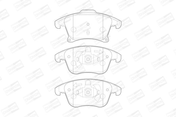 SET PLACUTE FRANA FRANA DISC CHAMPION 573674CH
