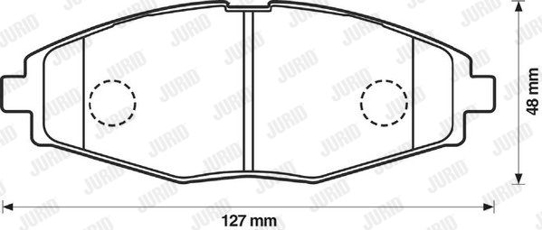 SET PLACUTE FRANA FRANA DISC JURID 572402J