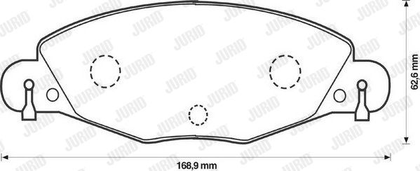 SET PLACUTE FRANA FRANA DISC JURID 573029JC