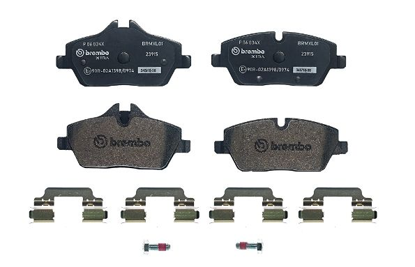 SET PLACUTE FRANA FRANA DISC BREMBO P 06 034X