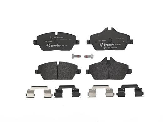 SET PLACUTE FRANA FRANA DISC BREMBO P 06 067