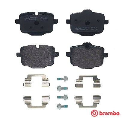 SET PLACUTE FRANA FRANA DISC BREMBO P 06 101