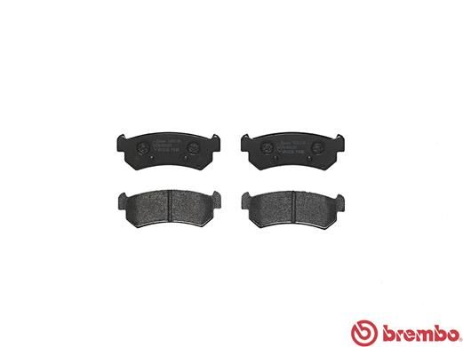 SET PLACUTE FRANA FRANA DISC BREMBO P 10 001