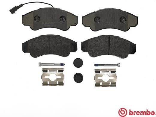 SET PLACUTE FRANA FRANA DISC BREMBO P 23 092
