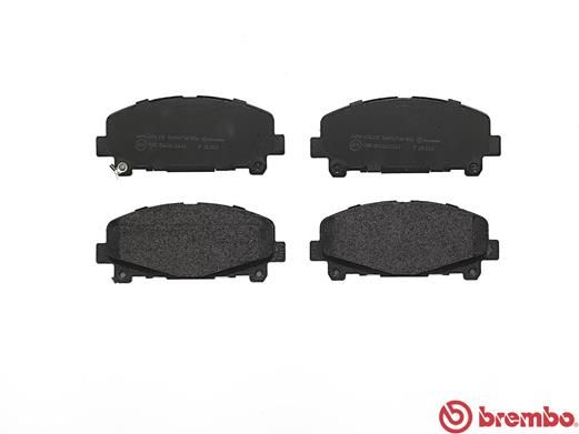 SET PLACUTE FRANA FRANA DISC BREMBO P 28 043
