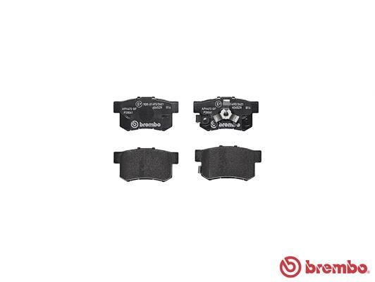 SET PLACUTE FRANA FRANA DISC BREMBO P 28 061