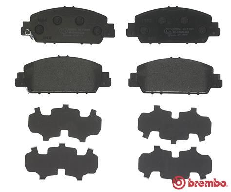 SET PLACUTE FRANA FRANA DISC BREMBO P 28 077