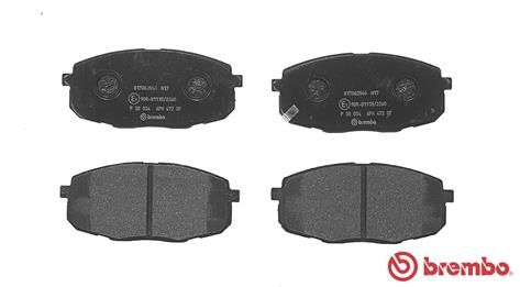SET PLACUTE FRANA FRANA DISC BREMBO P 30 034