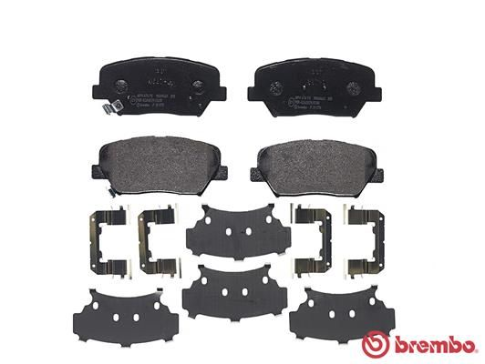 SET PLACUTE FRANA FRANA DISC BREMBO P 30 070