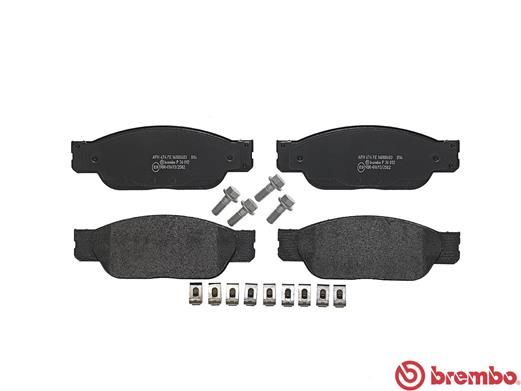SET PLACUTE FRANA FRANA DISC BREMBO P 36 012