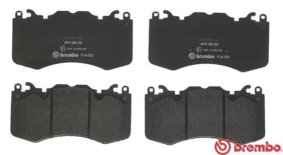 SET PLACUTE FRANA FRANA DISC BREMBO P 44 023