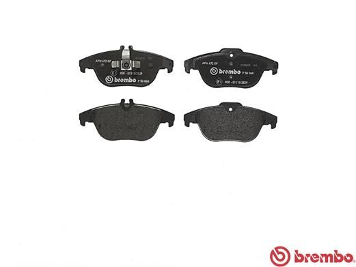 SET PLACUTE FRANA FRANA DISC BREMBO P 50 068