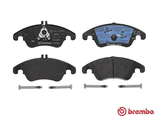 SET PLACUTE FRANA FRANA DISC BREMBO P 50 069