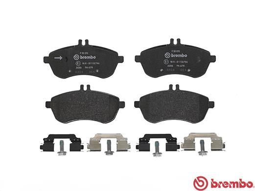 SET PLACUTE FRANA FRANA DISC BREMBO P 50 070