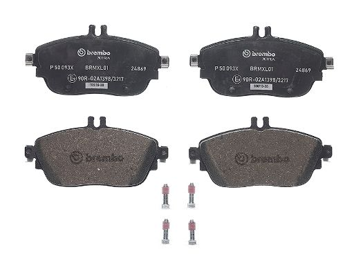 SET PLACUTE FRANA FRANA DISC BREMBO P 50 093X