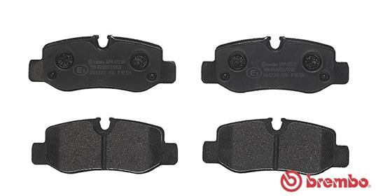 SET PLACUTE FRANA FRANA DISC BREMBO P 50 126