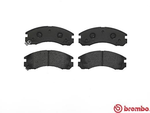 SET PLACUTE FRANA FRANA DISC BREMBO P 54 017