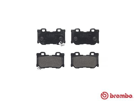 SET PLACUTE FRANA FRANA DISC BREMBO P 56 095