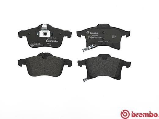 SET PLACUTE FRANA FRANA DISC BREMBO P 59 045