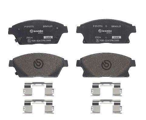 SET PLACUTE FRANA FRANA DISC BREMBO P 59 077X