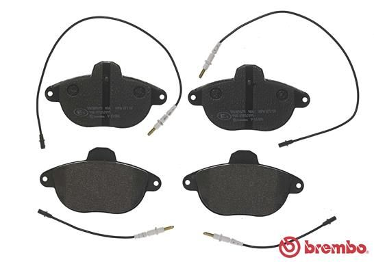 SET PLACUTE FRANA FRANA DISC BREMBO P 61 055