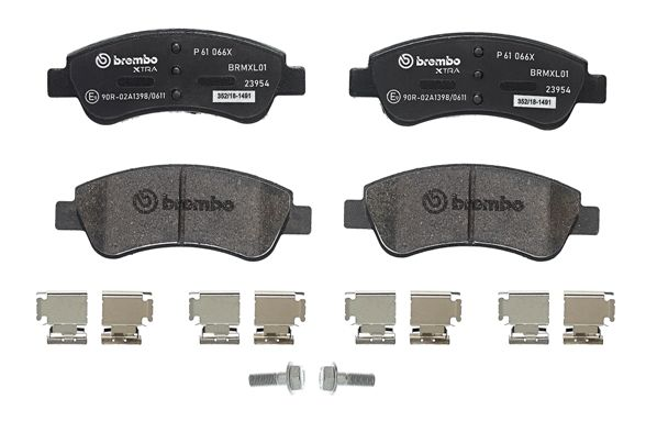 SET PLACUTE FRANA FRANA DISC BREMBO P 61 066X