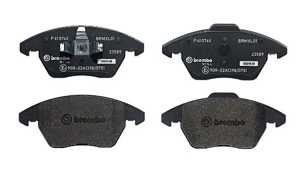 SET PLACUTE FRANA FRANA DISC BREMBO P 61 076X