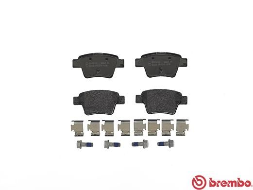 SET PLACUTE FRANA FRANA DISC BREMBO P 61 080