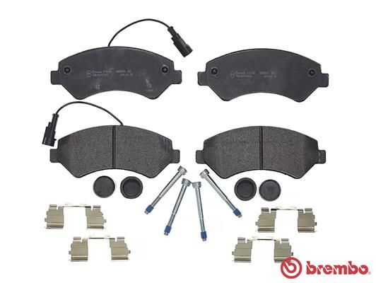 SET PLACUTE FRANA FRANA DISC BREMBO P 61 118