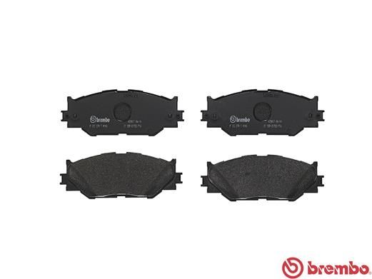 SET PLACUTE FRANA FRANA DISC BREMBO P 83 074