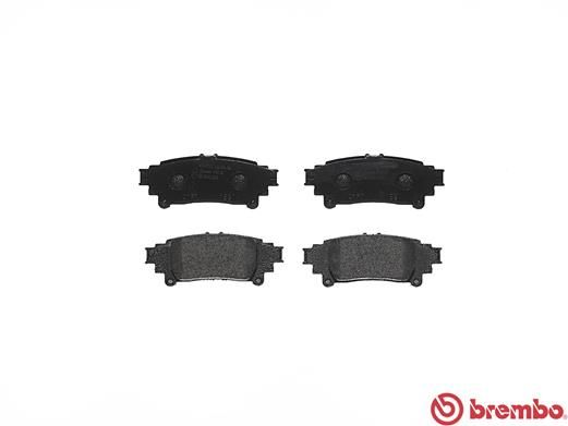 SET PLACUTE FRANA FRANA DISC BREMBO P 83 132