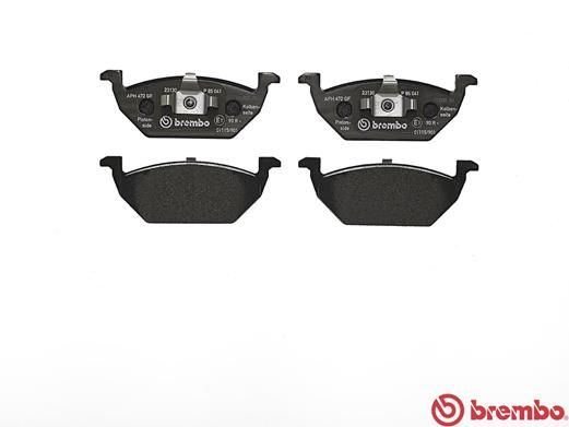 SET PLACUTE FRANA FRANA DISC BREMBO P 85 041