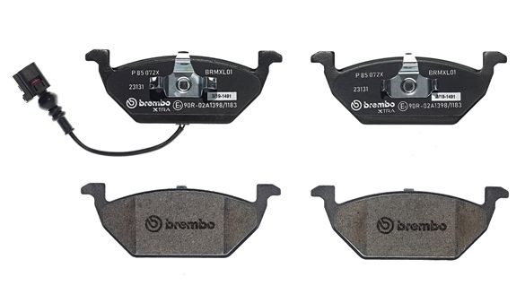 SET PLACUTE FRANA FRANA DISC BREMBO P 85 072X