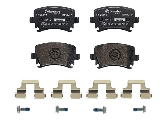 SET PLACUTE FRANA FRANA DISC BREMBO P 85 073X