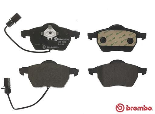 SET PLACUTE FRANA FRANA DISC BREMBO P 85 085