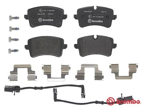 SET PLACUTE FRANA FRANA DISC BREMBO P 85 119