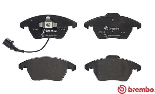 SET PLACUTE FRANA FRANA DISC BREMBO P 85 146
