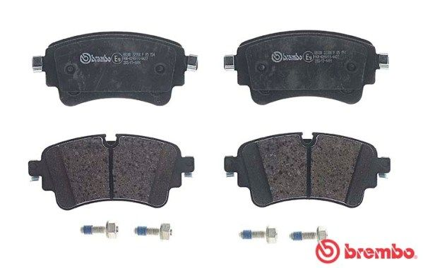 SET PLACUTE FRANA FRANA DISC BREMBO P 85 154