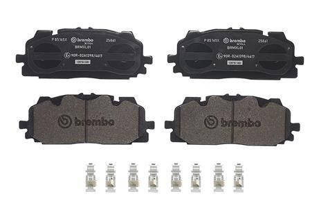 SET PLACUTE FRANA FRANA DISC BREMBO P 85 165X