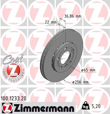 DISC FRANA ZIMMERMANN 100.1233.20