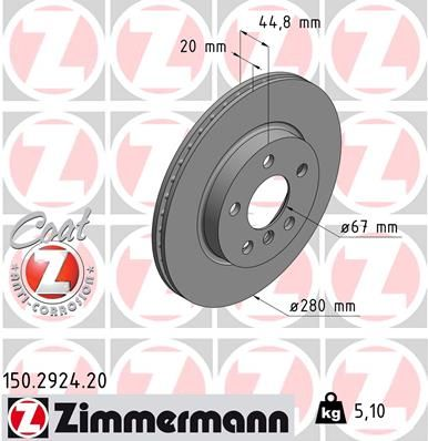 DISC FRANA ZIMMERMANN 150.2924.20