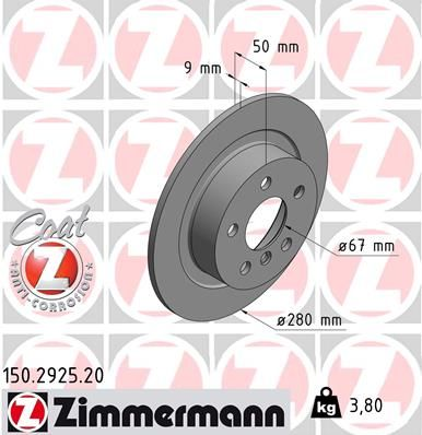 DISC FRANA ZIMMERMANN 150.2925.20