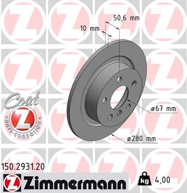 DISC FRANA ZIMMERMANN 150.2931.20